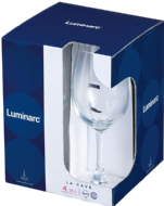 Luminarc La Cave Wine Glass 4 Pack - 26cl